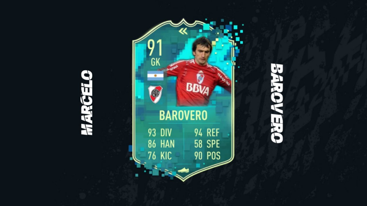 Marcelo Barovero Lookalike Player  Marcelo Barovero FIFA 20