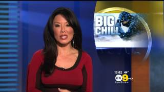 Sharon Tay 2013/01/14 KCAL9 HD