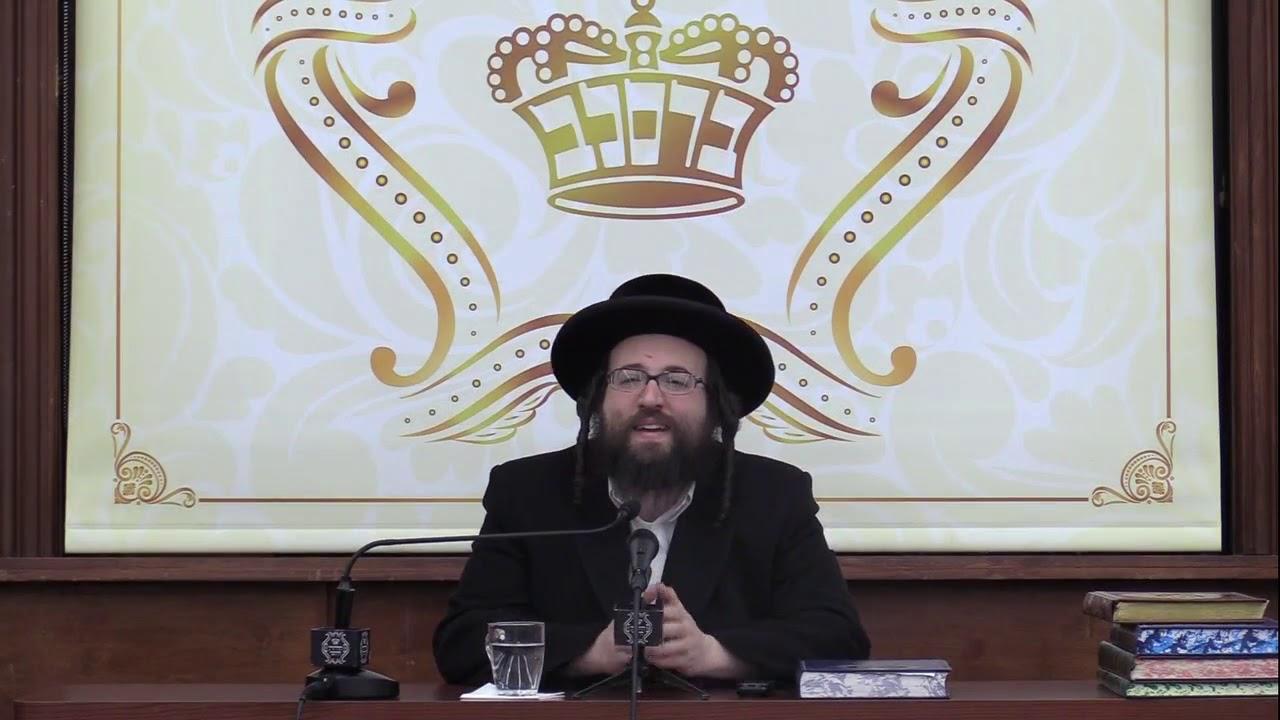 ר' יואל ראטה - אנהייבן פון ניי - ה' תזריע תשע''ט לאברכים - R' Yoel Roth
