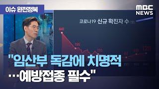 [이슈 완전정복] ''임산부 독감에 치명…