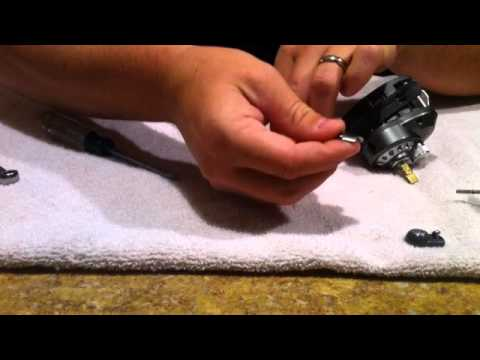 Baitcasting Fishing Reel Disassembly (Part 1)