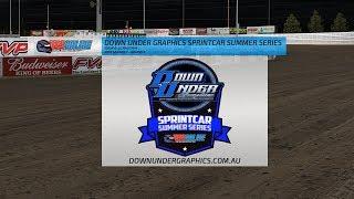 Down Under Graphics Sprintcar Summer Series - Round 3