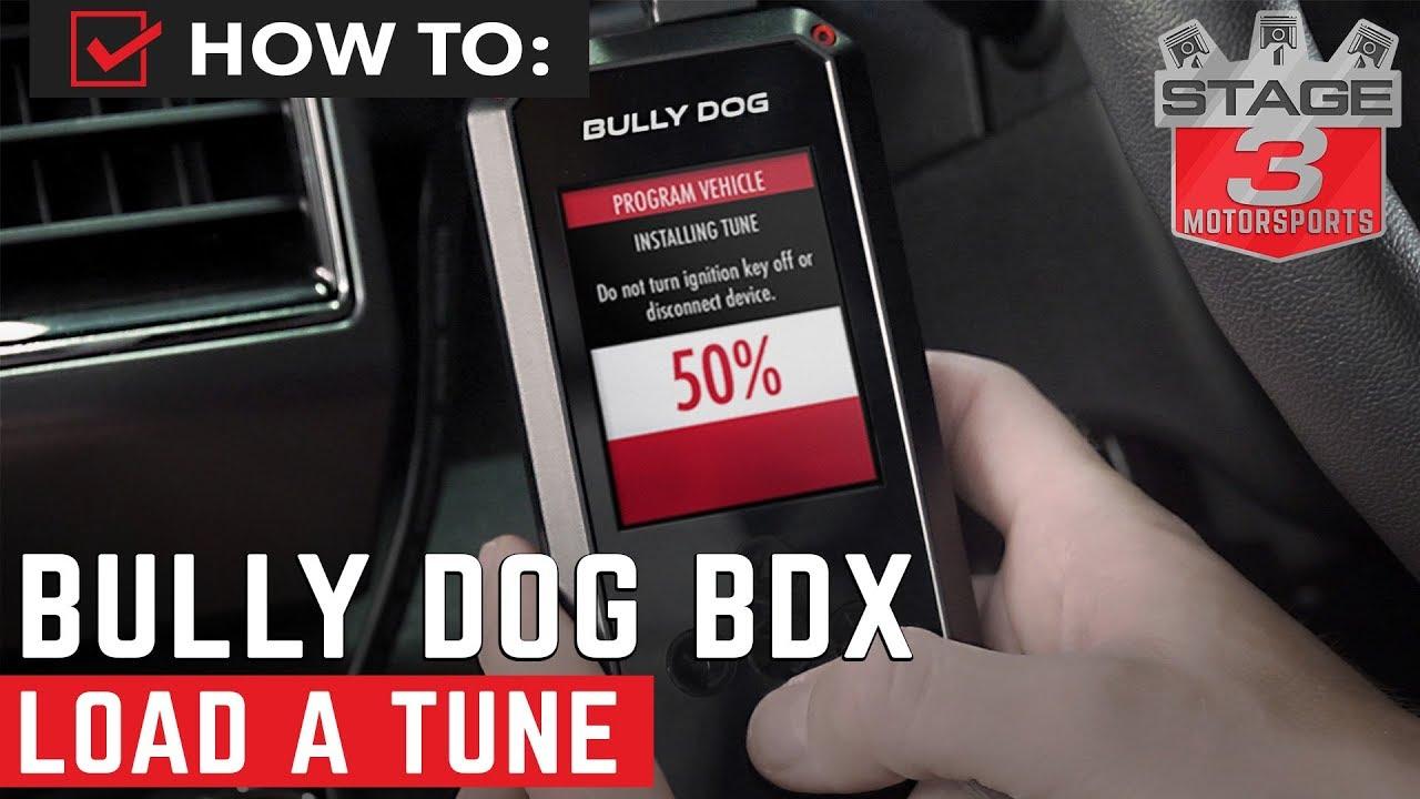 2018 F150 Bully Dog BDX Handheld Tuner Custom Tune Install