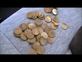 TREASURE FOUND! MONSTER HOARD IN LAWN OF DREAMS PART 5 Metal Detecting 29 Silver Coins | JDs Variety