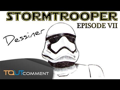Dessin Star Wars Stormtrooper Youtube
