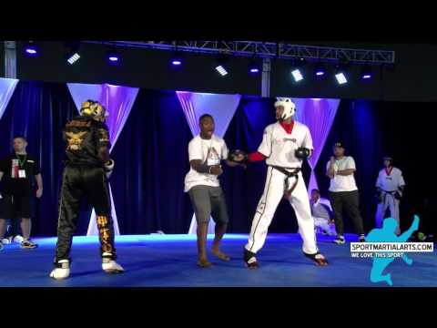 Micah Williams vs Abid Benwali - Round 3 - Team Sparring - Dixieland Nationals 2016