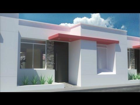 Casa moderna de x un piso condominio valle for Planos para casas de un piso