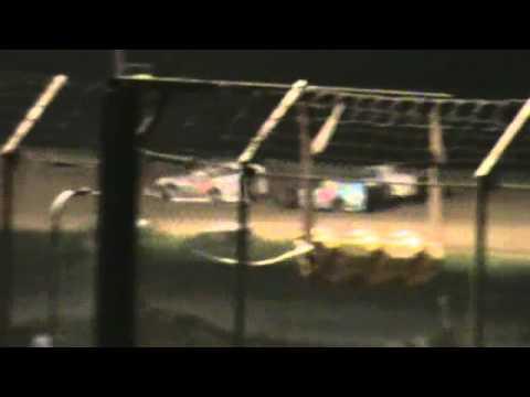 Callaway Raceway Fulton MO B-Mod Heat Race 8-23-13