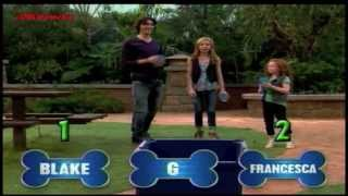 Dog With A Blog Challenge night - G Hannelius Francesca Capaldi and Blake Michael