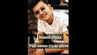 Riyaz age height sister name lifestyle create by lakhan Awasthi