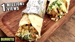 How To Make Burrito | Homemade Burritos Recipe | Nick Saraf's Foodlog