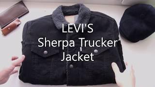 LEVI'S Sherpa Trucker Jacket Velvet. My jacket for the fall.