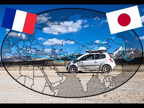 FRANCE to JAPAN by Car... Sport Car