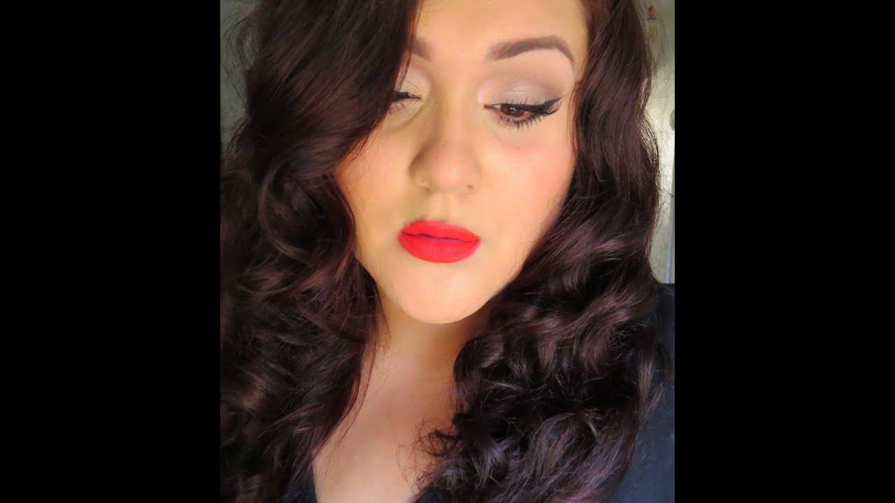 Ben noto Soft Glam MAC Relentlessly Red - YouTube RX37