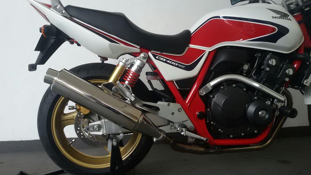 Honda CB400 Super Four CB400SF super sound muffler