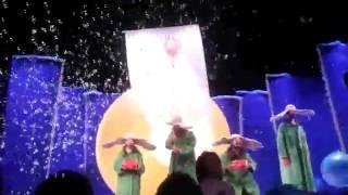 Снежное шоу Славы Полунина 2014