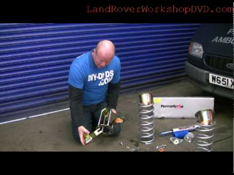 How To Change Landrover Suspension 2 Inch Suspension Lift