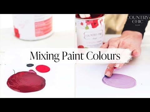 How To Mix Paint Colors - Color Mixing Tutorial - Tints, Tones ...