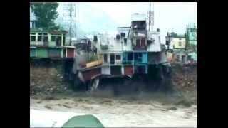 Flood Washed away everything in Uttrakhand, torrential rain broke 88 yrs record latest video