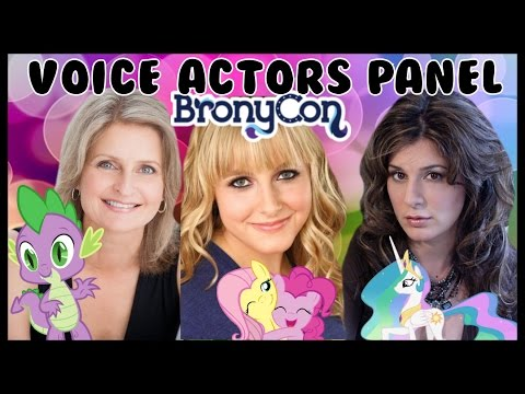 BronyCon 2015 - Voice Actors Panel - Andrea Libman, Cathy Weseluck, Nicole Oliver and MORE!