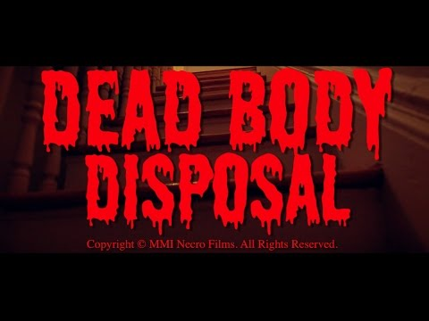 "NECRO - ""DEAD BODY DISPOSAL"" OFFICIAL VIDEO Starring PETER GREENE"