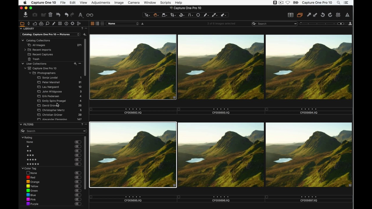 Capture One Pro 10 Webinar | Three Stage Sharpening with Proof View