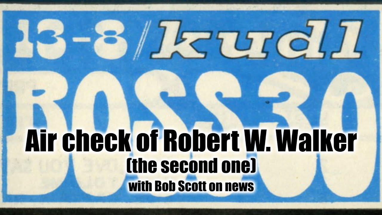 KUDL/Kansas City, Robert W. Walker, May 7, 1970 - YouTube