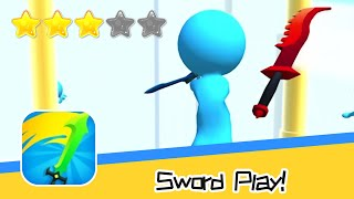 Sword Play! Ninja Slice Runner 3D Walkthrough Stylish dash & cut action game