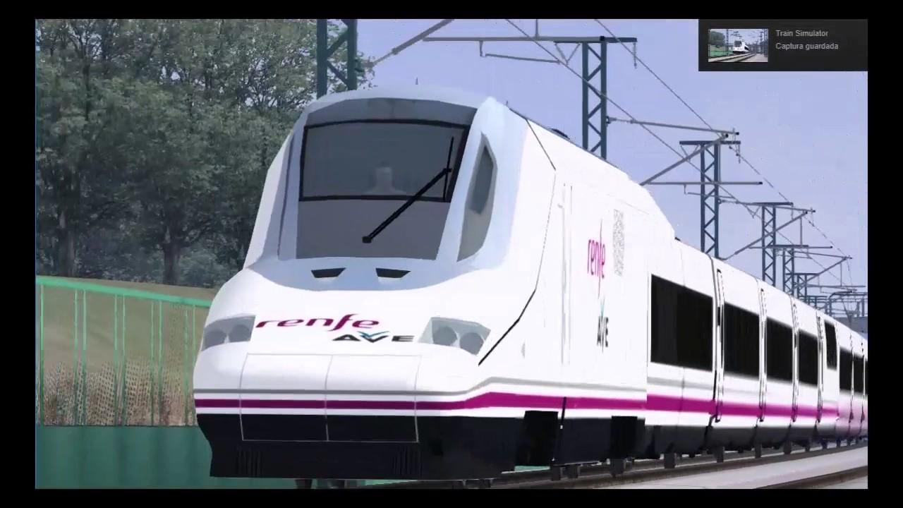 Train Simulator   Ep 12 AVE 05101   LAV Madrid - Valencia (Parte dos y  final)