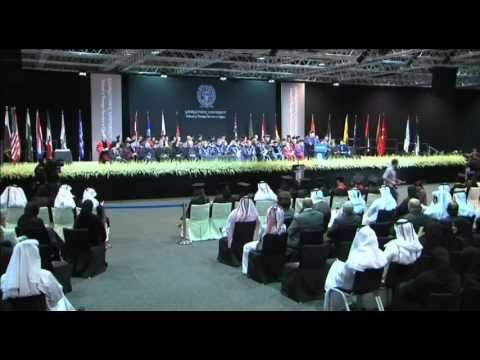 Georgetown University in Qatar Commencement 2013