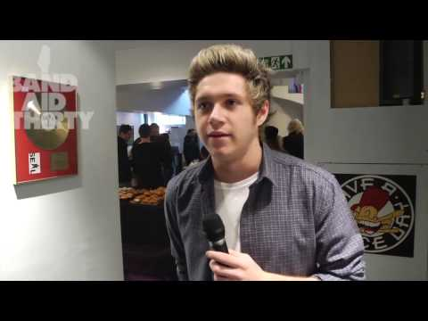 Band Aid 30 - Niall Horan Interview