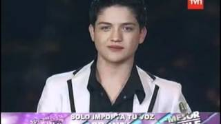 Juan Gabriel Valenzuela y La Noche---Final Factor X Chile 2012