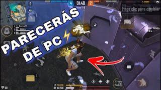 COMO PONER PAREDES RAPIDO Y AGACHADO COMO EN PC | FREE FIRE | SAVITAR YT