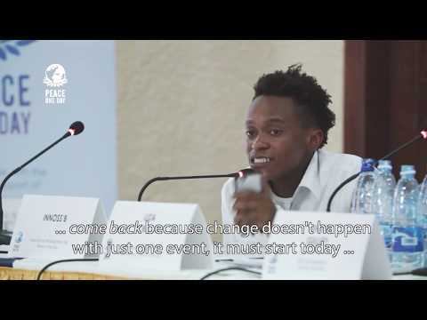 Innoss'B - Countdown to Peace Day Forum - Goma