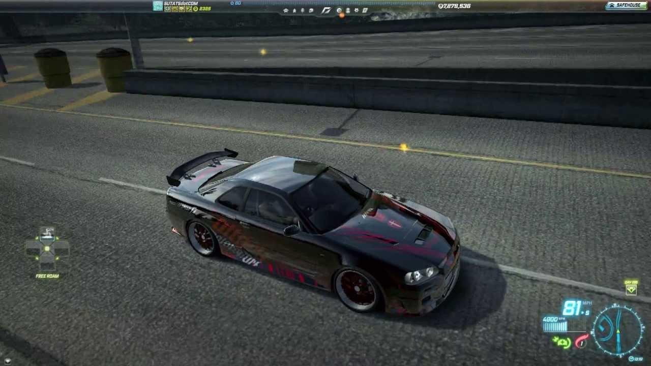 Need For Speed World Nissan Skyline R34 GTR VSpec The Raven