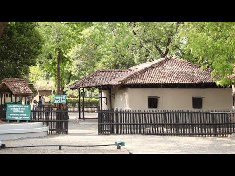 Sevagram Ashram Video (With HINDI commentary)
