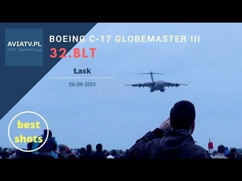 Boeing C-17 Globemaster III - 32 Baza Lotnictwa Taktycznego w Łasku