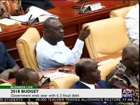 2018 Budget - Business Live on JoyNews (15-11-17)