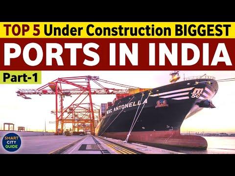 TOP 5 BIGGEST Under Construction MEGA PORTS IN INDIA | Part-1 | India's Mega Projects