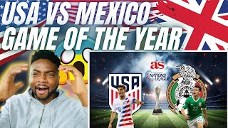 🇬🇧BRIT Football Fan Reacts To USA VS MEXICO - GAME OF THE YEAR?