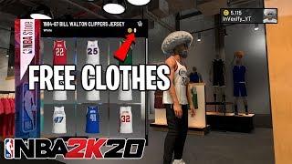 NBA 2K20 - Free Clothes & Shoe…