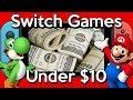 10 GREAT Cheap Nintendo Switch Games Under TEN DOLLARS ($10) WORTH Buying!