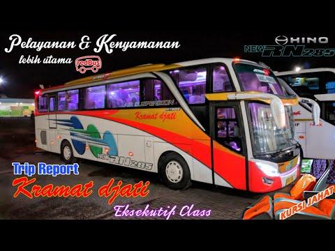 TRIP REPORT KRAMAT DJATI || TERNYAMAN DI JALURNYA || KURSI JAHAT!!! ||