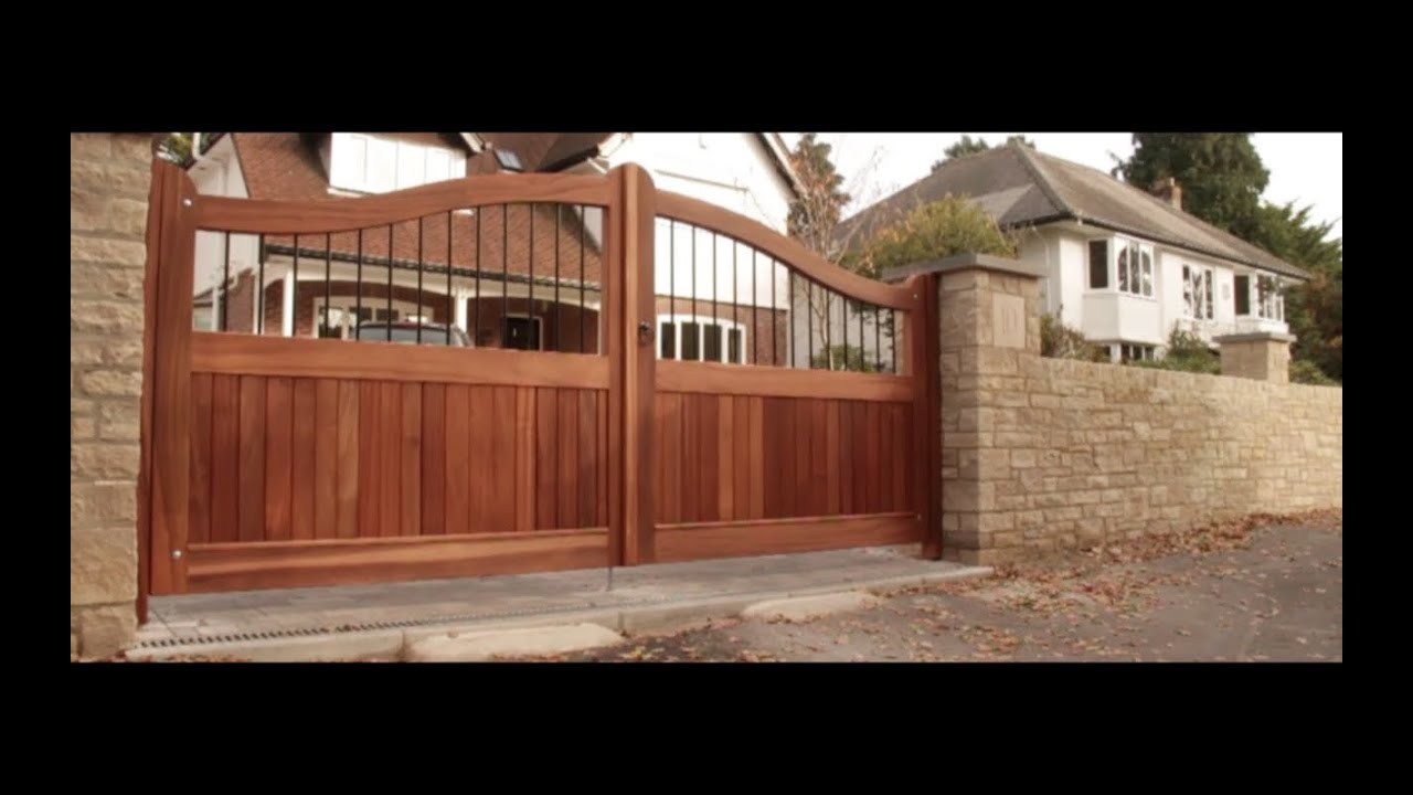 Wooden Gates By Quot Wooden Gate Makers Quot Youtube
