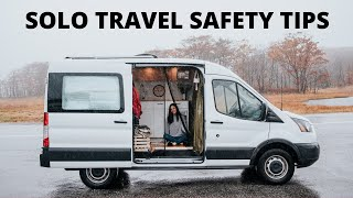 How I Stay Safe Living Solo in a Van