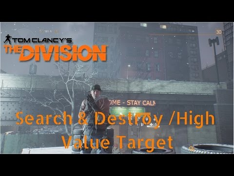 The Division: Search and Destroy / High Value Target