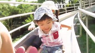 金沢動物園の滑り台