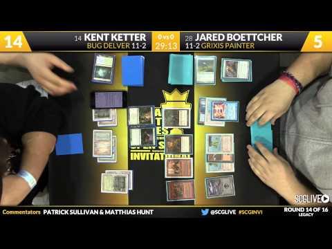 SCGINVI - Invitational - Round 14 - Kent Ketter vs Jared Boettcher