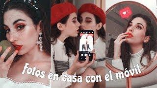 COMO HACERTE FOTOS EN CASA CON EL MÓVIL   CONSEJOS Y POSES #ad
