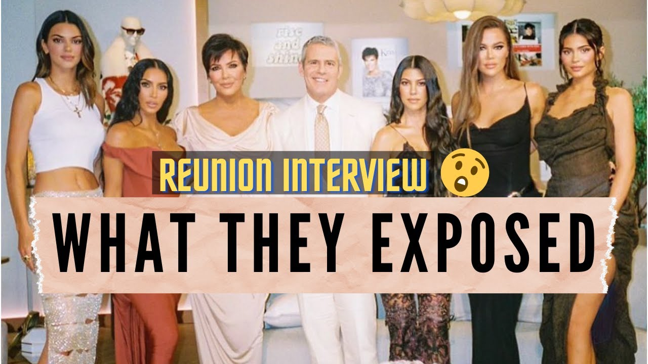 5 Things The Kardashians Exposed With Andy Cohen